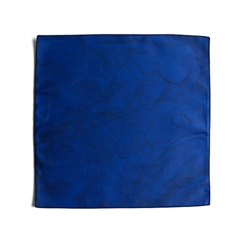 Tees - Kind Design TOPO POCKET SQUARE / NAVY