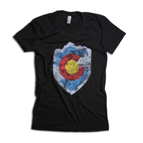 Tees - Kind Design VAIL TOPO SHIELD (women)