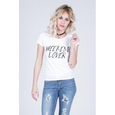 Mangas Cortas - Kout Remera Weekend