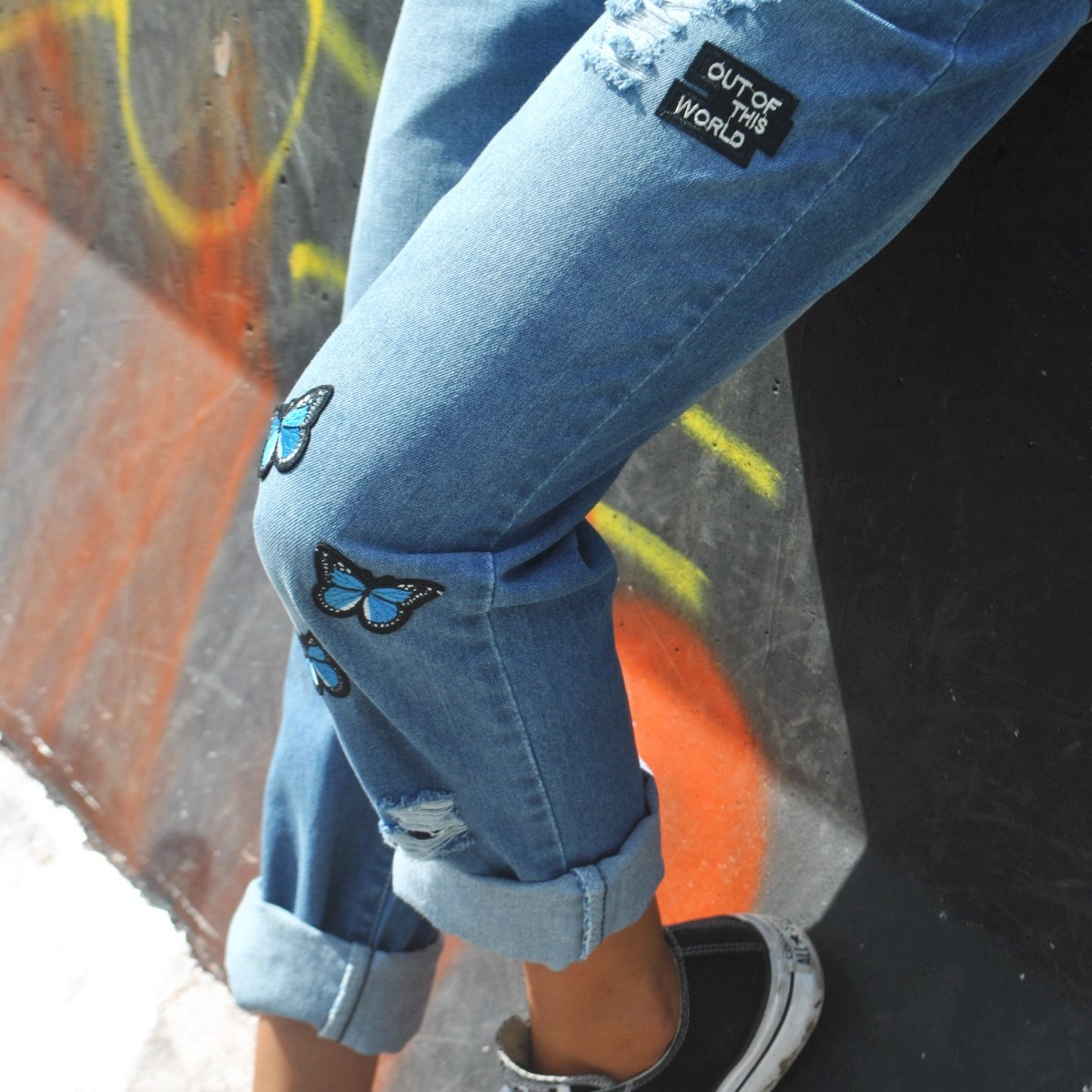 Jeans - Customs BA Jean Boayfriend Mickey