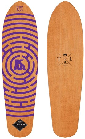 Tablas - Tomi Kaa Deck Cruiser Blazer Find The Way