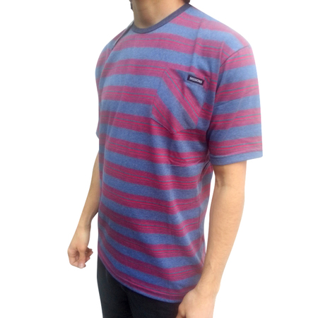 Mangas Cortas - Sessions Remera Stripe