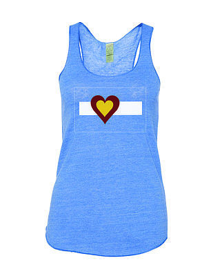 Tanks - Big Colorado Love Blue Tank
