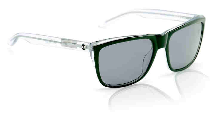 Sunglasses - Hoven Vision KATZ Black Clear / Grey