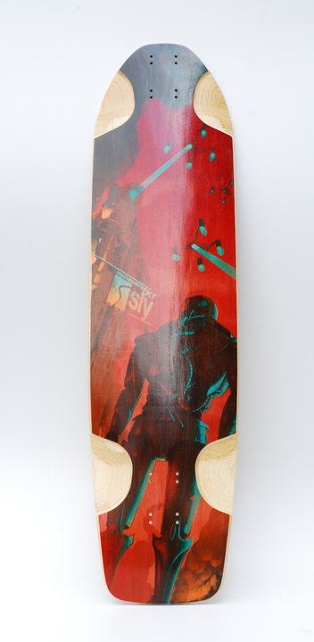 Tablas - Sly Skateboards Deck Machbuster KT