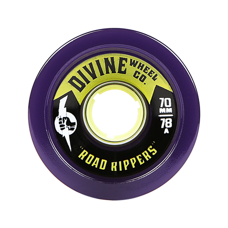 Wheels - Divine Road-Rippers-70mm-Purple
