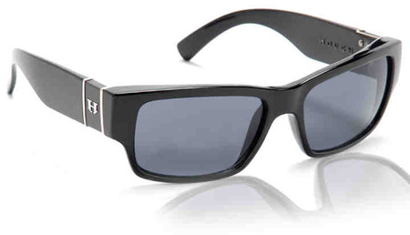 Sunglasses - Hoven Vision KNUCKLEHEAD Black Gloss / Grey Polarized