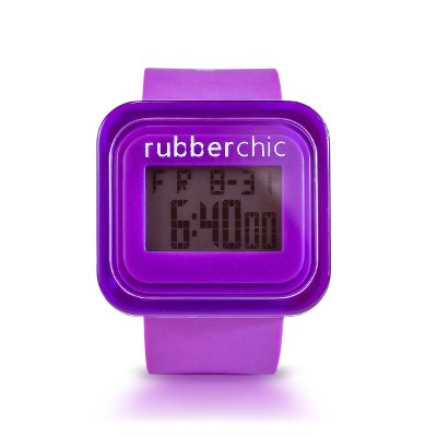 Relojes - Rubberchic Reloj Box Dark Purple