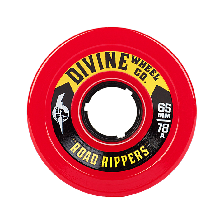 Wheels - Divine Road-Rippers-65mm-Red