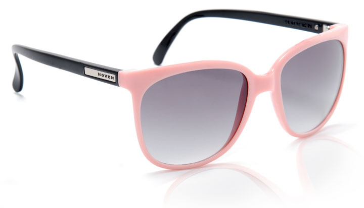 Sunglasses - Hoven Vision SKINNY LEGS Pink-Black/ Grey Fade