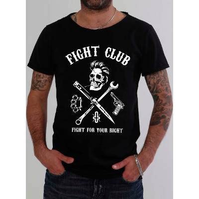Mangas Cortas - Fight For Your Right Remera Navaja