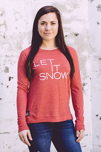 Long Sleeve - California 89 WOMEN'S LET IT SNOW LOCKER ROOM PULLOVER