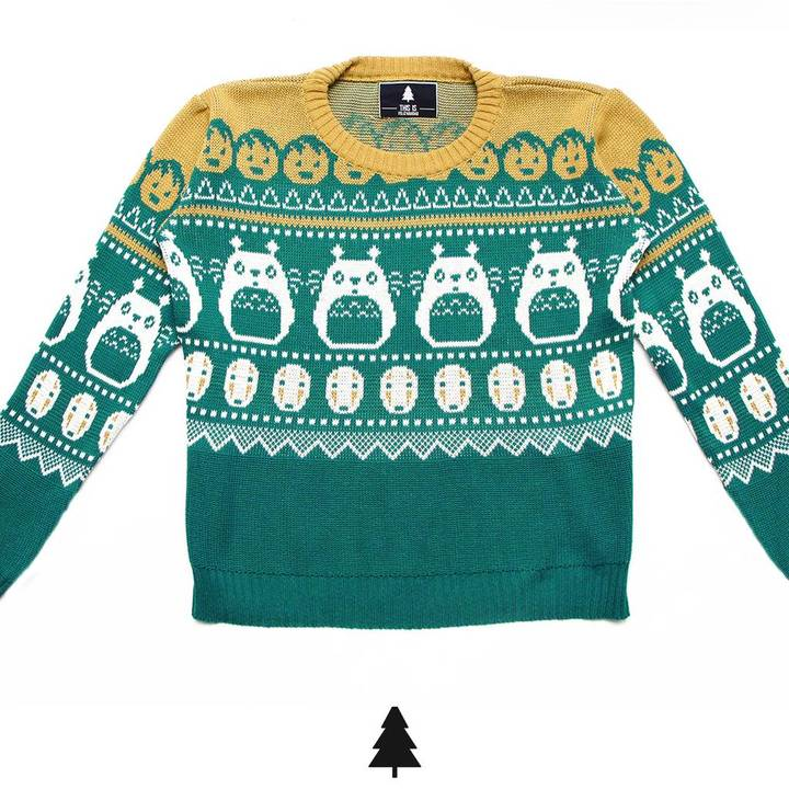 Sweaters - This Is Feliz Navidad Sweater My Neighbour Mujer