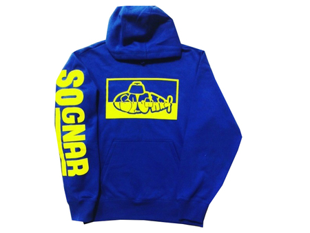 Hoodies - So-Gnar Two-Tone Submarine Blue Hoodie