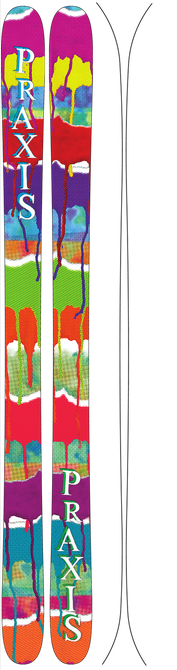 All Mountain - Praxis Skis Piste Jib - All Mountain Series (2015)