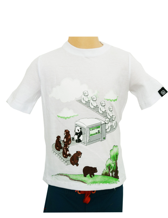 Mangas Cortas - Bothrops Remera Low Ink Panda