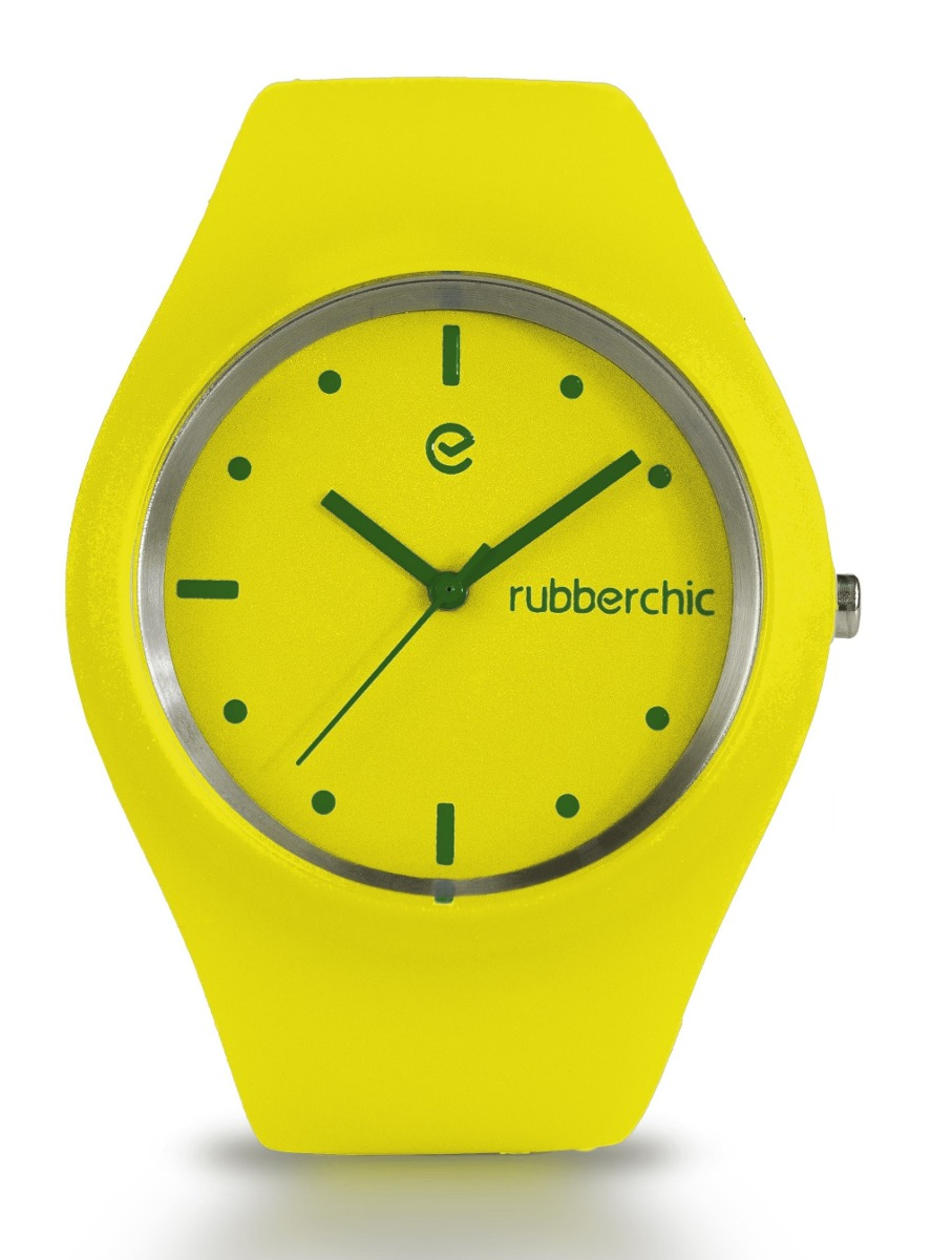 Relojes - Rubberchic Reloj Sense Yellow