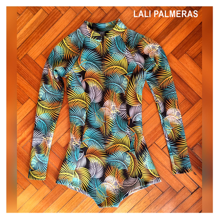 Enteros - Wildass Surf Suit Lali Palmeras