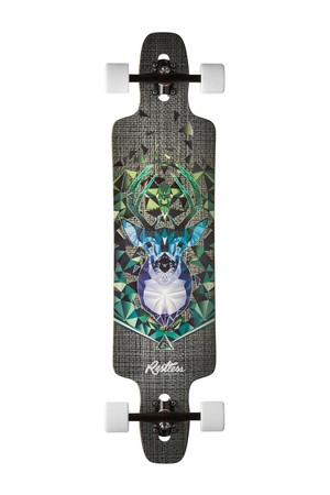 Restless Longboards Splinter40 FiberLam 2015 Bust Deck Longboard