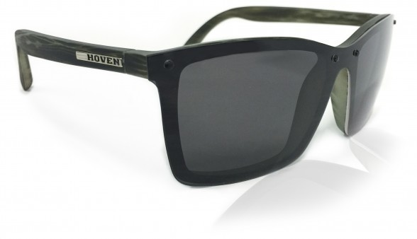 Sunglasses - Hoven Vision BIXBY Seaweed Matte / Grey Polarized