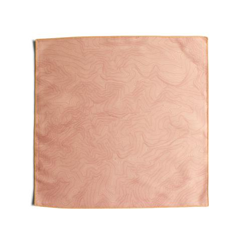 Tees - Kind Design TOPO POCKET SQUARE / PEACH