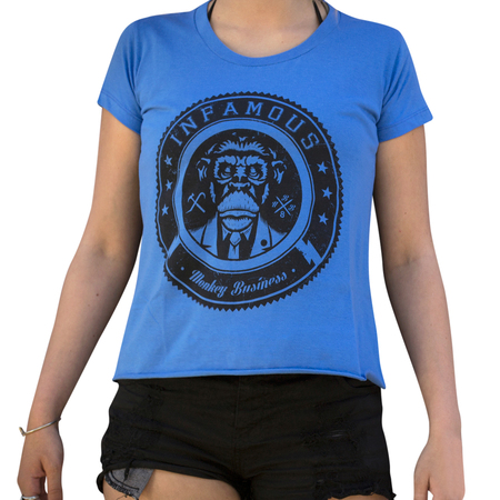 Mangas Cortas - Infamous Remera Mujer Monkey Business