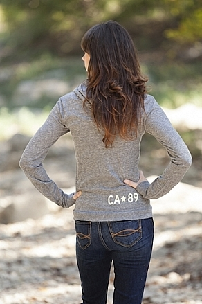 Hoodies - California 89 Women's Lightweight Tree Pullover