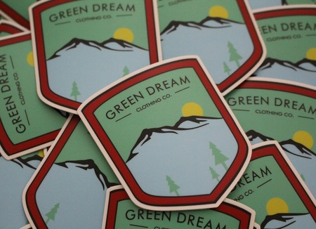 More - Green Dream Clothing Co. Stickers