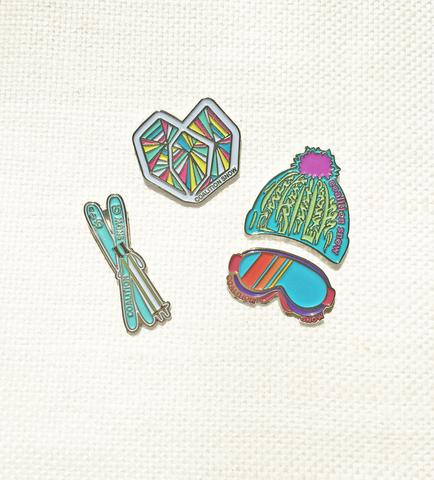 All Mountain - Coalition Snow #SisterhoodOfShred Pin Collection