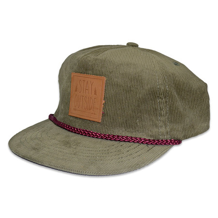 Ball Caps & Snapbacks - STZ Stay Outside Cord Hat
