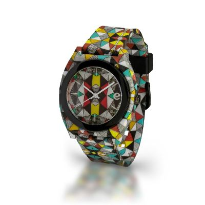 Relojes - Rubberchic Reloj Wave Crazy