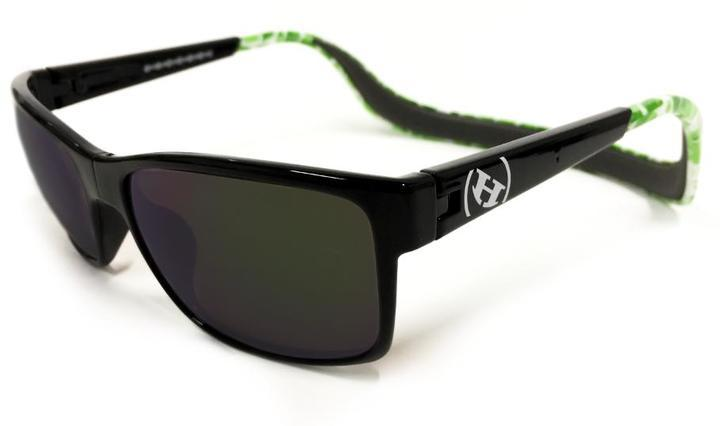 Hoven Vision MONIX Black- Green Turtle Gloss - Grey Polarized