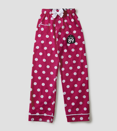 More - California 89 KID'S PAJAMA BOTTOMS