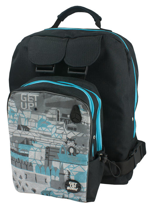 Mochilas - Get Up Boris! Mochila para Rollers Sin City