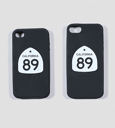 More - California 89 Silicon  iPhone Case