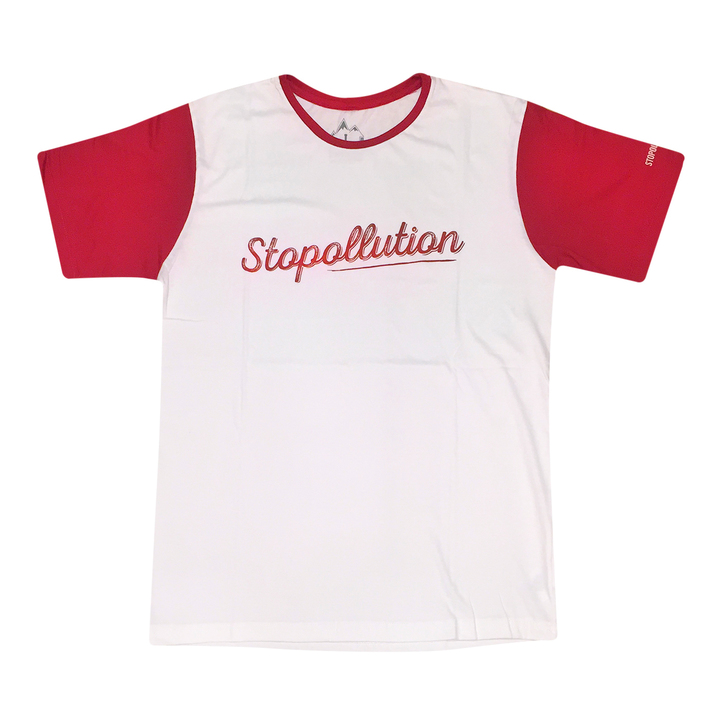 Mangas Cortas - Stopollution Remera Handwrite