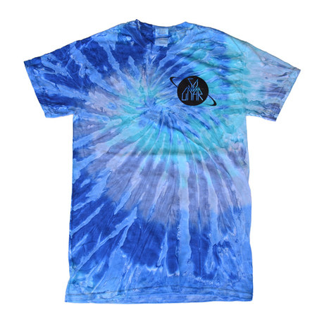 Tees - So-Gnar Cosmic Blue Tie Dye Tee