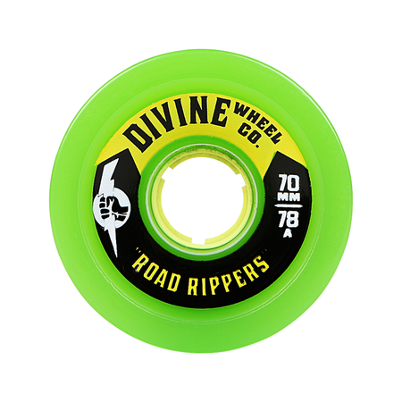 Wheels - Divine Road-Rippers-70mm-Green