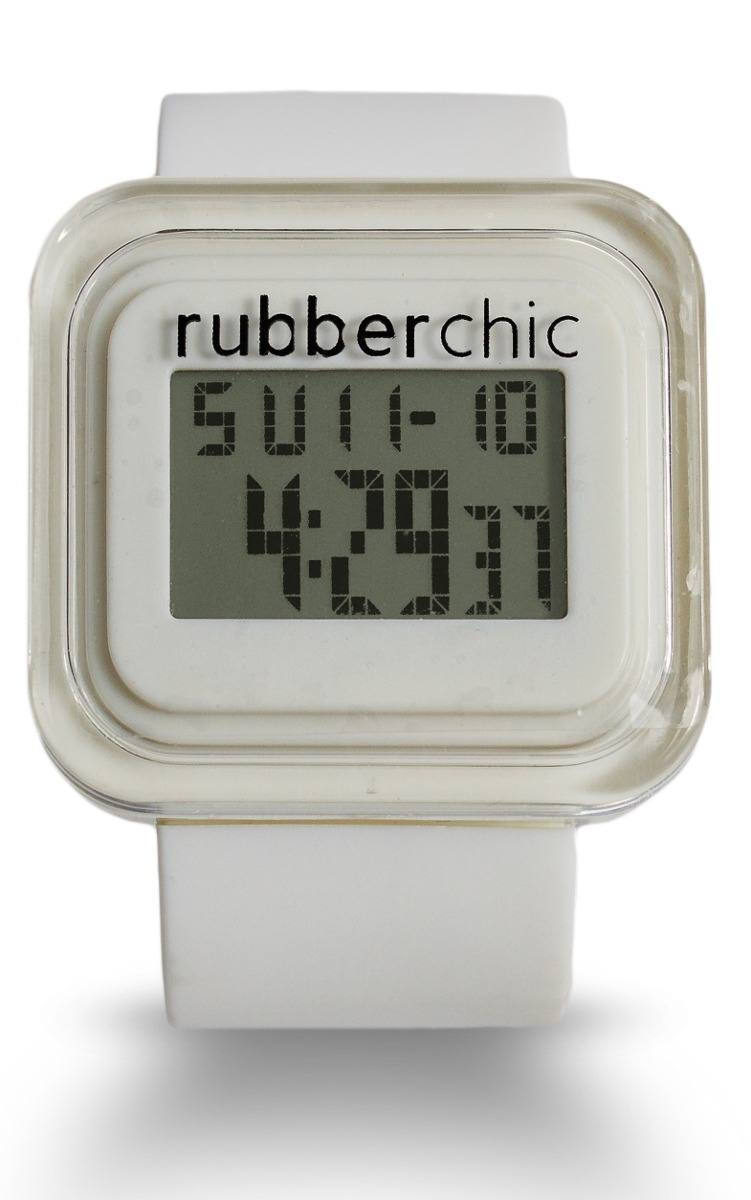 Relojes - Rubberchic Reloj Box White