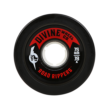Wheels - Divine Road-Rippers-75mm-Black