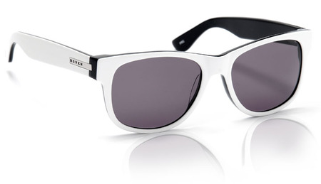 Sunglasses - Hoven Vision BIG RISKY-White-Black/Grey