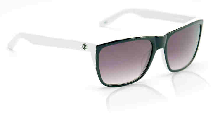 Sunglasses - Hoven Vision KATZ Black White / Grey Fade