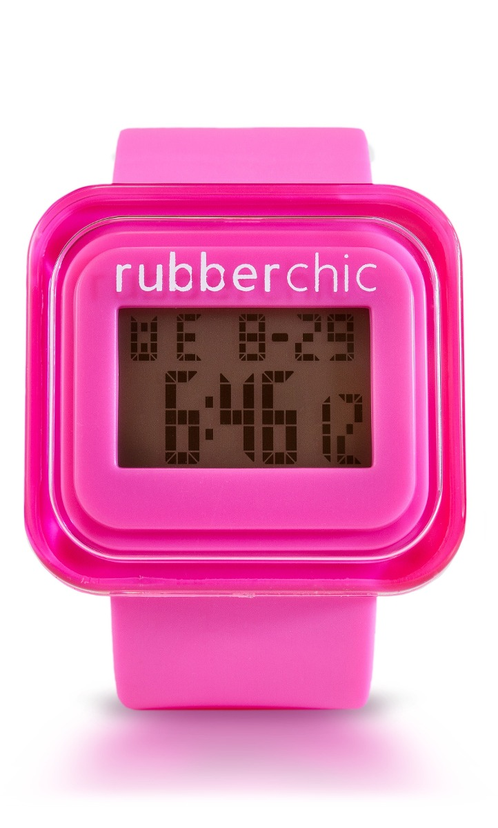 Relojes - Rubberchic Reloj Mini Box Fucsia