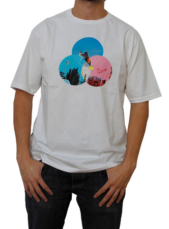 Mangas Cortas - X Games Remera Color Circle