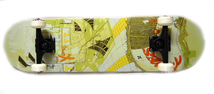 "Boards - X Games Skateboard ""Disturbia"""