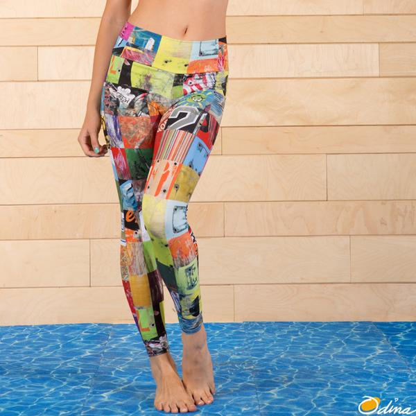 Leggings - Odina Swimwear Art of Board Leilani Legging