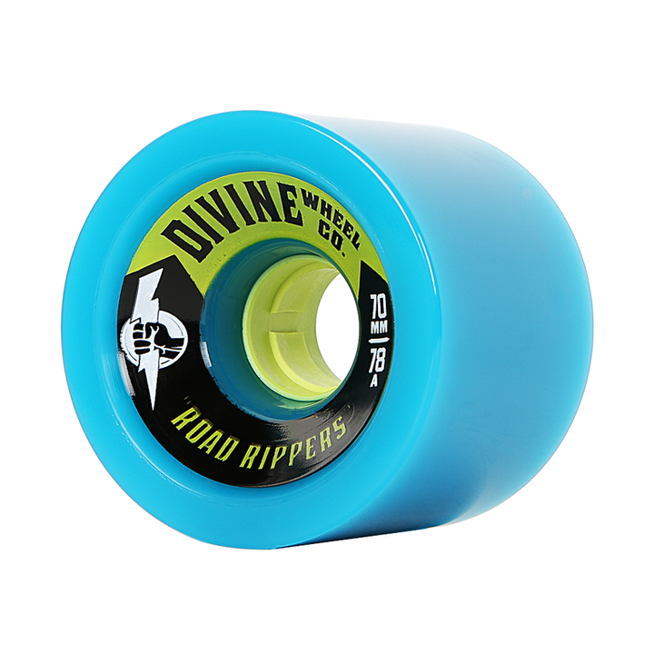 Wheels - Divine Road-Rippers-70mm-Cyan