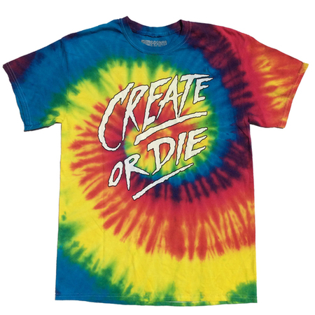 Tees - So-Gnar Create or Die - Tie Dye Edition