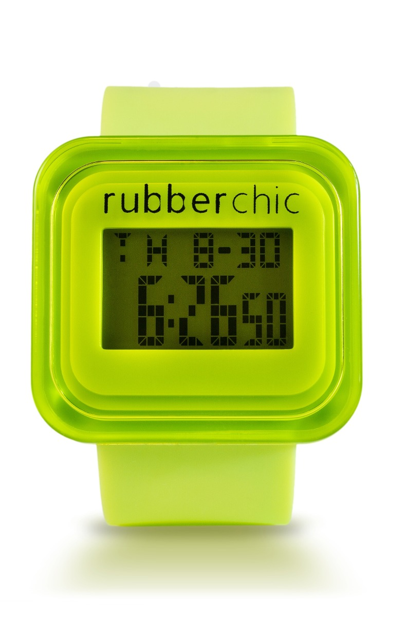 Relojes - Rubberchic Reloj Box Green