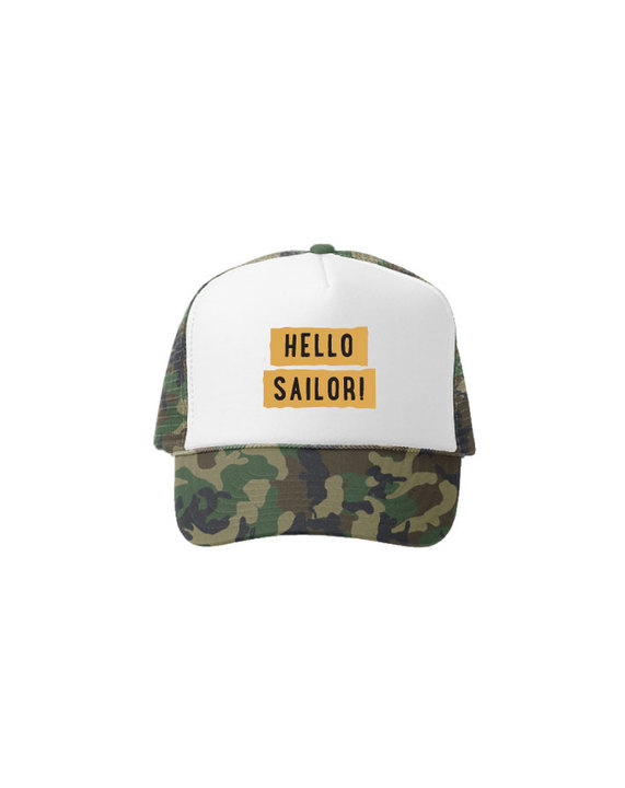 Truckers - Soulfly Gorra Hello Sailor